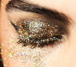 DO NOT use your normal face wash to remove glitter; it will just spread it all over your face like a grease fire and you'll be sporting a very sparkly look for the next three days.