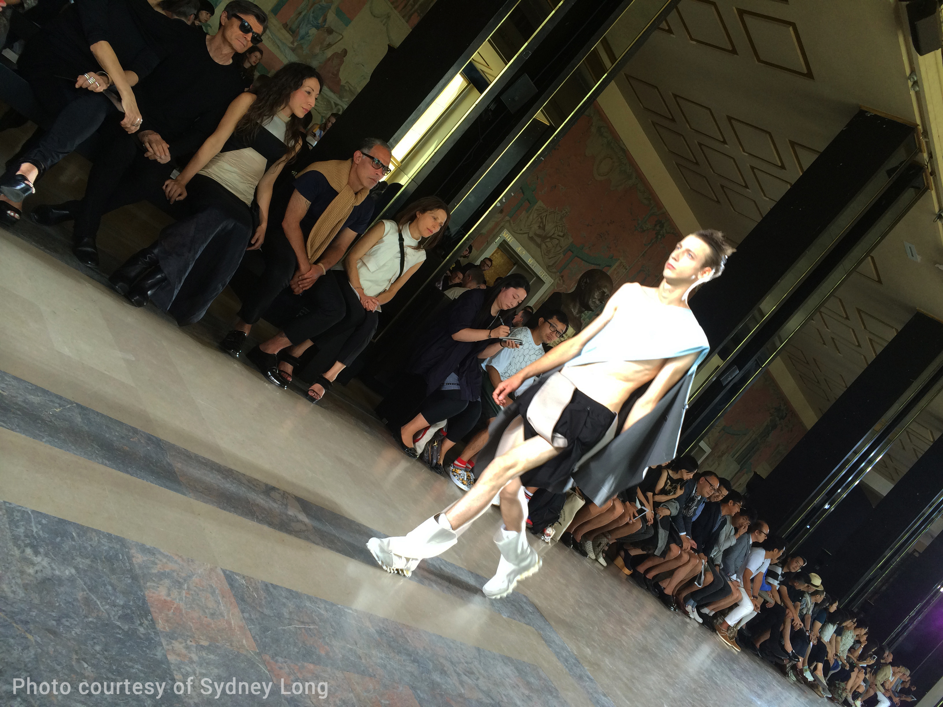 Rick Owens Mens Collection, Paris Fashion Week