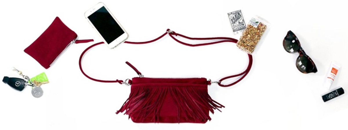 The Fringe Belt Bag on Bead & Reel - One of the roomiest fanny packs sold on the site.