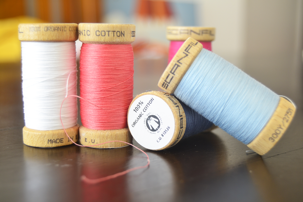 VeeV News: organic cotton thread made in the EU for a low carbon footprint